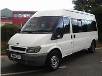 Ford Transit 2.4 TDI Bus 4dr (15 Seat, LWB)£2,000 BRAND NEW CLUTCH 2002 (02 reg)