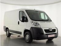 2012 Peugeot Boxer 2.2 HDi H1 Van 100ps Diesel white Manual