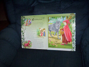 Fairy Tale Jigsaw puzzle story book hard thick pages and cover