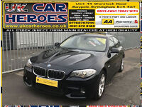2012 BMW 520 2.0TD DIESEL PERFORMANCE AUTO M SPORTS + 12 MONTH WARRANTY INCLUDED