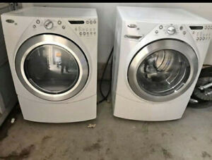 Whirlpool front load washer and Dryer set For Sale