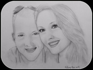 Turn your photo into a beautiful drawing starting at $50.00 St. John's Newfoundland image 2