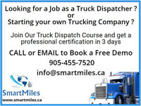 Truck Dispatch Course and Dispatcher Training