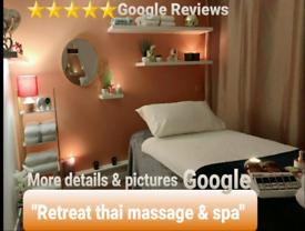 Luxury Thai massage & body Scrub! 3 therapists working daily