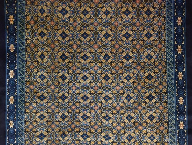 Captivating Chinese - 1920s Antique Peking Rug - Oriental Carpet - 6.1 X 9 Ft