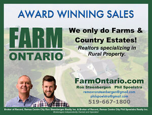SOLD Beautiful 100Acre North Huron Parcel By Listowel & Hanover! Kitchener / Waterloo Kitchener Area image 10