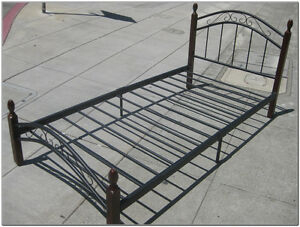 Twin size Metal Bed Frame for sale, only for $75.00