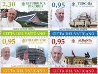 Francobolli Vaticano 2015 -i Viaggi Di Papa Francesco Nel Mondo -  - ebay.it