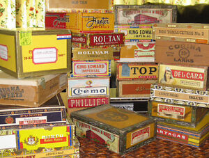 Looking for cigar boxes!!!