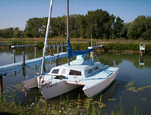SOLD 26 ft trailerable trimaran SOLD