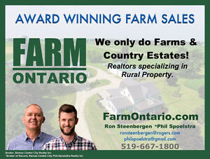Should I Sell the Farm? FREE SEMINAR (Listowel) Stratford Kitchener Area image 2