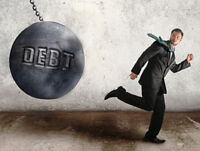 TAX DEBT CAN USUALLY DISAPPEAR THROUGH BANKRUPCY BY...
