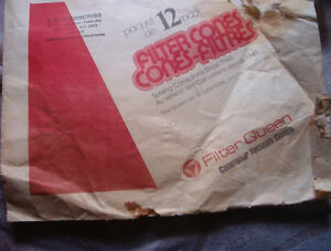 vintage  Filter Queen canister Vacuum bags 4 left $4.00