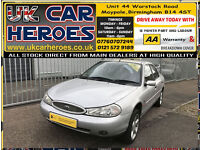 X PLATE 2000 FORD MONDEO 1.8i ZETEC 49,000 MILES ONLY FROM NEW*DRIVE WELL