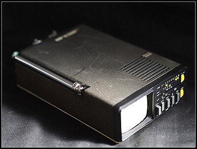 1970s Sinclair MTV1A Micro Television. Portable.