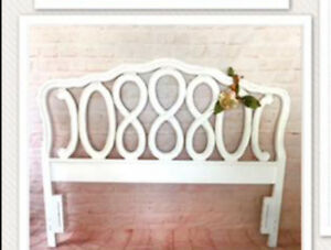 Queen Headboard French Provincial