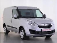 2017 Vauxhall Combo 1.3 CDTI 16V 95ps H1 Sportive Van Euro 6 Diesel silver Manua