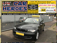 58 PLATE 2008 BMW 118D 2.0 TD DIESEL SE 5 DR H-BACK *EXCELLENT CONDITION & DRIVE