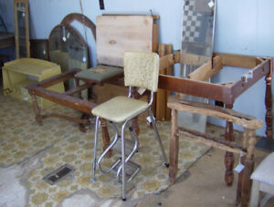 Bldg. Full of Project Furniture  Antique/Vintage-STEAL OF A DEAL