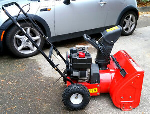 Yard Machines Compact Snow Thrower