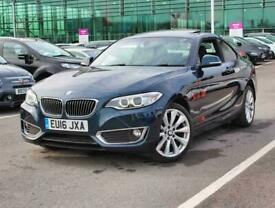 2016 BMW 2 Series 220d [190] Luxury 2dr Coupe Diesel Manual