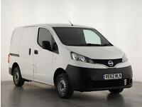 2012 Nissan NV200 1.5 dCi 89 SE Van Diesel white Manual