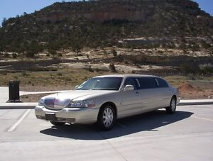 """2003 Lincoln Town Car Executive Stretched Limousine - """"Six Pack"""""""