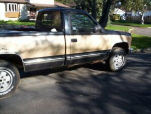 1988 CHEVY TRCK 4X4 LOTS OF NEW PARTS