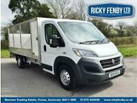 ad630a7cf0 2015 FIAT DUCATO 35 MAXI LWB MULTIJET WITH ALLOY CAGE AND TAILLIFT.  DROPSIDE DIE