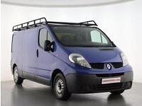 2010 Renault Trafic LL29dCi 115 Extra Van Diesel blue Manual