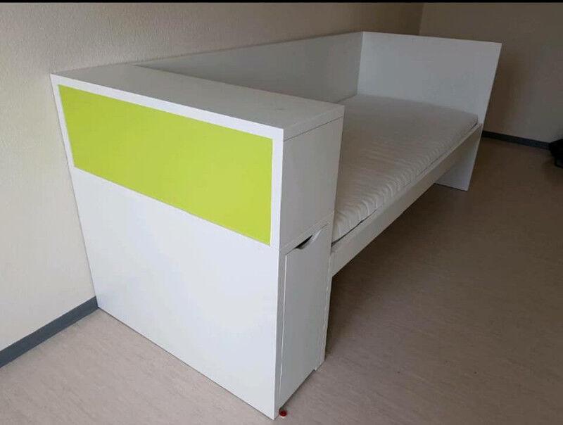 Lit Ikea Flaxa Simple Avec Tete De Lit Lits Et Matelas Ville