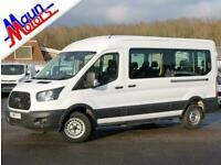 2018 Ford Transit T410 TDCi 155PS 'Trend', 14 Seat Minibus, Euro 6, Sat Nav,
