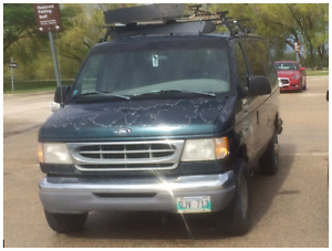 1998 Ford E-350 Van, Selling As Is