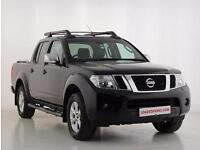 2011 Nissan Navara Double Cab Pick Up Tekna 2.5dCi 190 4WD Auto Diesel black Aut