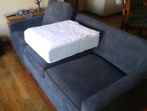3 large extra firm foam cushion inserts