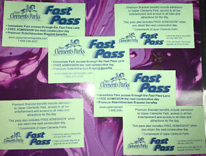 Upper Clements Park Fast Pass