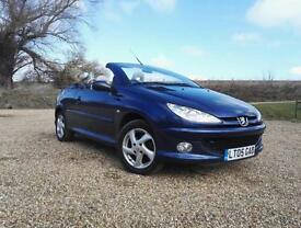Peugeot 206 1.6 2005 Coupe Cabriolet Allure FULL LEATHER NEW CLUTCH HPI CLEAR