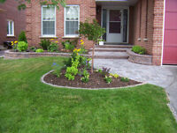 LANDSCAPING * SPRING CLEANUP * DECK REFINISHING * NW LAWN CUTS