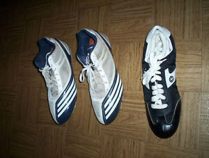mens 11.5 Adidas 12 Etonic 9 Under Armour cleats soccer football
