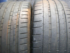 2 tires Contisport contact 5P 255/40 ZR 20 for sale.