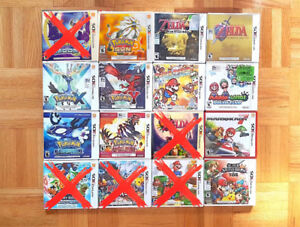 NINTENDO 3DS & DS GAMES & GBA/GBC ( READ THE DESCRIPTION !! )