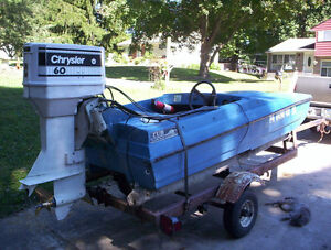 60 HP Chrysler Outboard Engine
