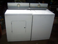Laveuse-secheuse Maytag ancien modele robuste!