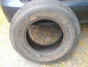 one 235 75 15 tire $10.00