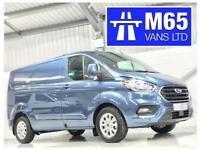 68 FORD TRANSIT CUSTOM LIMITED CHROME BLUE NEW READY TO DRIVE AWAY L1H1 SWB