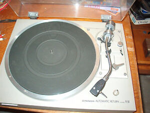 vintage Pioneer PL-514 turntable record player SOLD