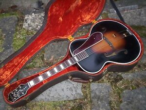 1937 Epiphone Broadway archtop guitar acoustic