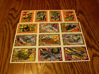 G.I. Joe - 1991 Impel - assorted trading cards