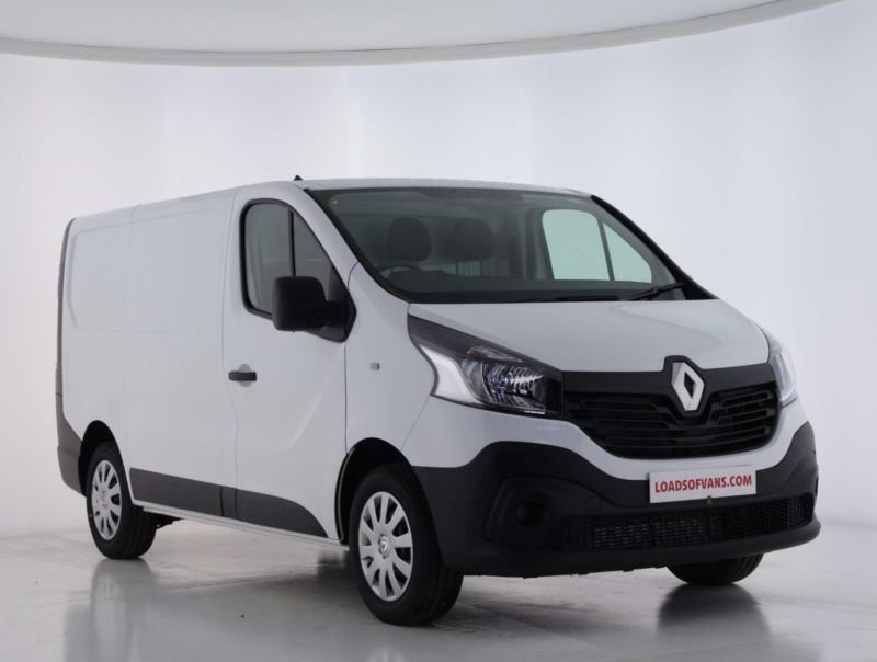 2017 renault trafic business van diesel white manual cheapest euro 6 in the uk in sutton. Black Bedroom Furniture Sets. Home Design Ideas