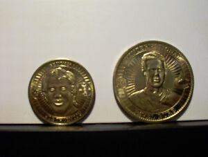 PINNACLE MINT COLLECTION HOCKEY COINS - 1997/1998